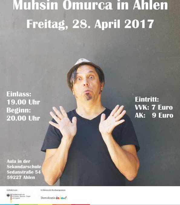 Veranstaltung am 28.04.2017: Muhsin Omurca präsentiert sein Kabarettprogramm rund um alle Kulturen